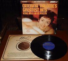LP CATERINA VALENTE Greatest hits (London 65 USA) Italian lounge jazz pop NM!