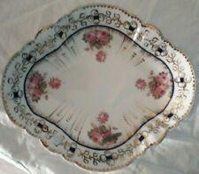 Bisto (Bishop & Stonier) diamond shaped bowl with scalloped rim.