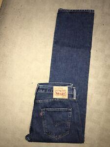 New Men's Levis 501 Jeans W34 L32 Blue Levi Levi's