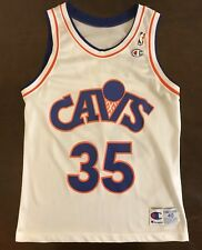 4221f5e91 Rare Vintage Champion NBA Cleveland Cavaliers Danny Ferry Basketball Jersey
