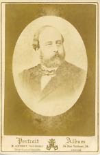 E. Appert, Le Comte de Chambord Henri d'Artois, ca.1875, vintage albumen pr