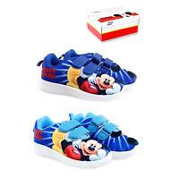 Scarpe Topolino bambino leggere bambina strappo Disney blu mickey mouse 24 al 31
