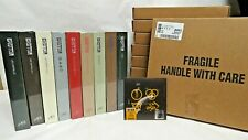 COMPLETE SET 9 Original Led Zeppelin Super Deluxe Ed.Box Sets MINT SEALED + 45!
