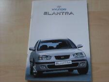 54130) Hyundai Elantra Lantra Prospekt 08/2001