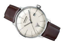 Junkers Men's 6050-5 Bauhaus with Exhibition Back 40mm Timepiece