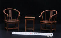 1/6 soldier model furniture fittings, a set of ancient style tables+ chairs .