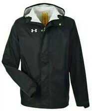 Men's NWT XL BLACK Under Armour STORM ACE Waterproof Jacket. UA HOODED RAIN GEAR