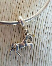 UNICORN CHARM Silver European Charm Bracelet Necklace Pendant