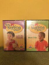 Baby Signing Time DVDs Lot Of 2 Brand New Unopened DVDs