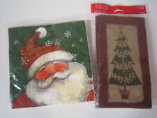 Christmas Assortment 16 Napkins and 12 Goody Bags Unopened