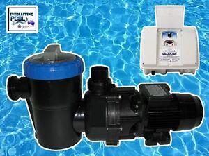 Fasco Aqua Drive 1.5 HP Swimming Pool Pump & Future Wave Pump Energy Saver