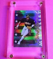 1998 Donruss PRIZED Collections Rated Rookies SP RC Miguel Tejada #186 MINT.
