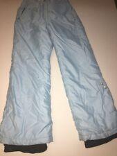 Couloir Snow / Ski Pants Jr. Girls Metro Size 12 Baby Blue Designer!!!