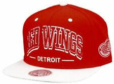 Mitchell And Ness-Detroit Red Wings Redwhite Triple Arch Snapback