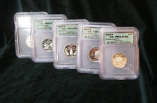 2000 5 piece ICG STATEHOOD QUARTER SET PROOF 69 DEEP CAMEO 2ND YEAR ALL 5 COIN
