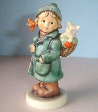 Hummel Goebel LUCKY FRIEND 2235 TM8 Girl Figurine Numbered Artist Signed Limited