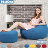 Personalised Bean Bag Chairs for Kids Couch Sofa Cover Indoor Children Lounger