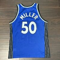 Vintage Mike Miller Authentic Orlando Magic Jersey Champion Size 40 Autographed!