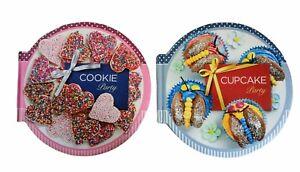 Cupcake Party & Cookie Party Carla Bardi Cookbook Dessert Decorating Food MCRAE