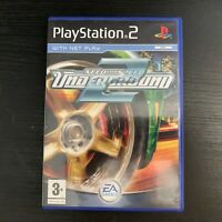 Need For Speed Underground 2 Game Manual Inc PlayStation Two PS2 UK PAL