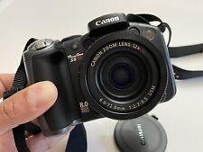 Canon PowerShot S5 IS Black 8.0 MP 12x Optical Zoom Lens New Open Box