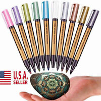 Metallic Marker Pens, Metallic Color Painting Marker for DIY Photo/ Card Making
