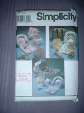 SIMPLICITY PATTERN 8400 ~ BABY ACCESSORIES DIAPER BAG HAT BOTTLE COVER ++ ~ NEW