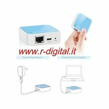 ACCESS POINT ROUTER MODEM WIRELESS LAN RETE WIFI IN CASA USB RIPETITORE CLIENT
