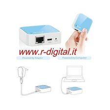 ACCESS POINT ROUTER MODEM WIRELESS LAN RETE WIFI IN CASA USB RIPETITORE CLIENT