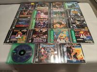 Playstation 1 PS1 PSX Games -Rayman Croc Tekken - LOTS OF GREAT TITLES & PRICES!