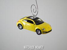 New Style Volkswagen Beetle Custom Christmas Ornament VW Bug Herbie 1/64 A5