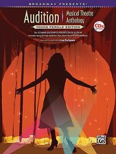 Broadway Presents! Audition Musical Theatre Anthology: Young Female Ed 000322304