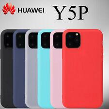 Cover Custodia Silicone Per Telefono HUAWEI Y5P + Protezione Pellicola In Vetro