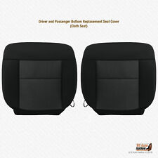 2004 - 2006 Ford F150 FX2 FX4 Driver AND Passenger Bottom Cloth Seat Cover BLACK