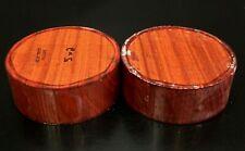 2 pieces 5x2 Kiln Dried Padauk Wood Turning Lathe Bowl Blank Block (Bulk)