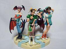 Capcom Girls Prize Figures Valentine's Day Version Completed Set