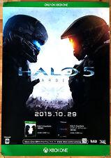 HALO 5 GUARDIANI RARA Xbox One 0,5 cm x 73 cm giapponese PROMO POSTER