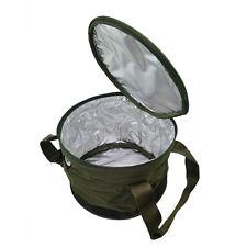 NEW NGT DELUXE WATERPROOF BAIT BIN /GROUND BOWL CARP FISHING ANGLERS BOILIE BAG