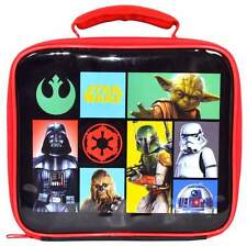 Heroes Villains Lunch Bag Unknown 0707226801458 by Star Wars