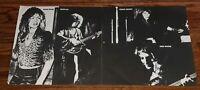 ORIGINAL 1974 QUEEN SHEER HEART ATTACK LP ALBUM POSTER LYRIC SHEET ONLY ELEKTRA