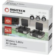 NEW Foxtel IQ2 Wireless AV Sender Audio Video Transmitter Receiver New PayTV