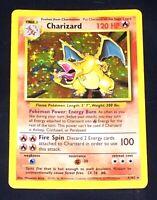 Charizard 4/102 - Holo Foil Base Set Pokemon Card 1999 WOTC NEAR MINT NM
