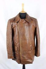 Vintage 50 s horsehide/perfecto en cuir Sports Moto Motard Rancher Veste M