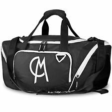 Gym Bag, CHICMODA [WaterProof series] Athletic Sport Shoulder Bag - Black /