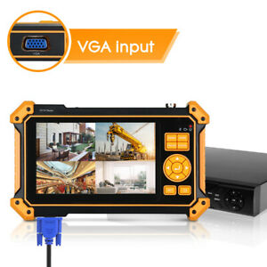 8MP IP CCTV Camera Tester AHD CVI TVI CVBS Analog Monitor Security PoE PTZ Kits