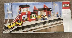 Vintage Lego Railway Station 7824 In Orignial Box