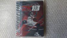 NBA 2K18 Steelbook PS4/XBOX ONE (NO GAME, PLEASE READ DESCRIPTION)