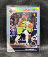 Malik Beasley Silver Prizm #49 Timberwolves 2019-20 NBA Hoops Premium Stock