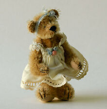 Deb Canham Artist Designs Inc  ~ miniature Flore bear ~ 1st collection 1996 RARE