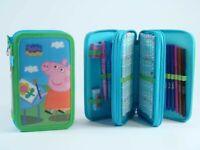 Peppa Pig Estuche 3ZIP 86159 $ 8436543861594 Easy Toys & C. S. R.l. Papelería